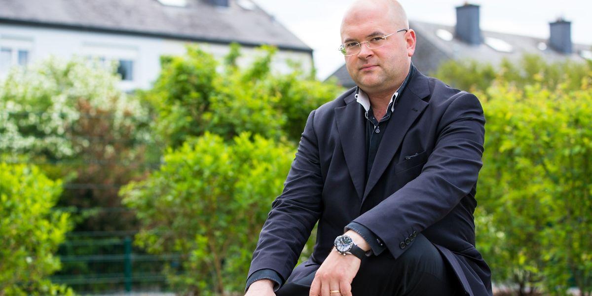 Florian Krumpöck est nommé chef principal de l'Orchestre de chambre de Luxembourg.