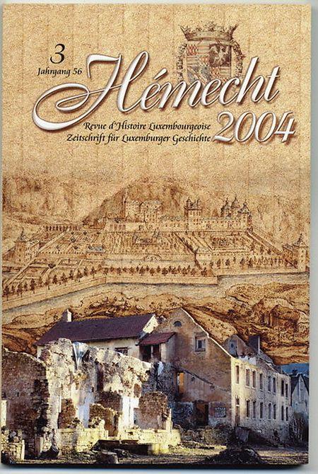 """Eine Ausgabe der """"Hémecht"""" aus dem Jahr 2004."""