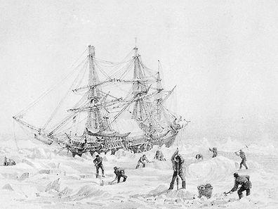 Festgefahren im ewigen Eis: Die HMS Terror