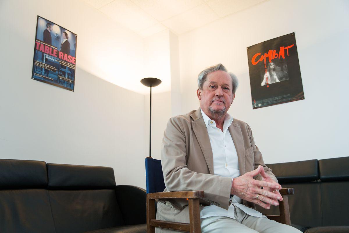 Nicolas Steil steht als Präsident der Theaterfederatioun vor.