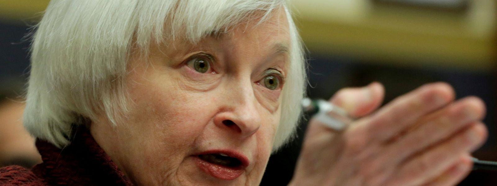 Janet Yellen, Vorsitzende der Fed.