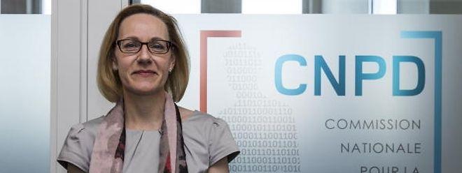 Tine Larsen, présidente de la Commission nationale pour la protection des données
