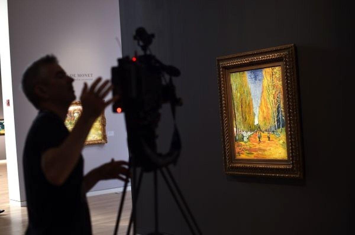"""Un collectionneur chinois a acquis """"L'Allée des Alyscamps"""" de Vincent Van Gogh pour 66,3 millions de dollars."""