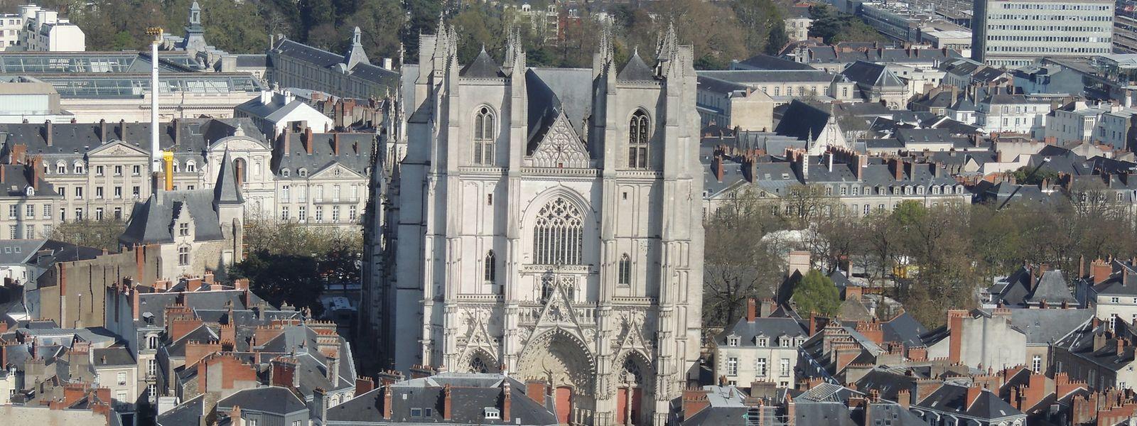 Im Zentrum der Stadt: die spätgotische Kathedrale von Nantes.