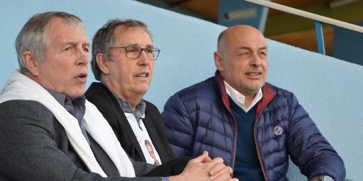 Bernard Zénier (à droite) est conscient de l'importance du match de ce dimanche, mais ne le considère pas comme décisif pour la montée.