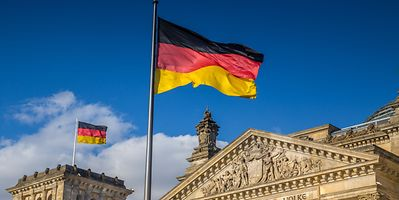 Germany's economy is feeling the strain of a lockdown which has been in place since mid-November