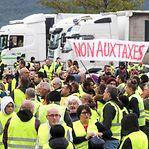 Um morto e duzentos feridos em manifestações dos 'coletes amarelos' em França