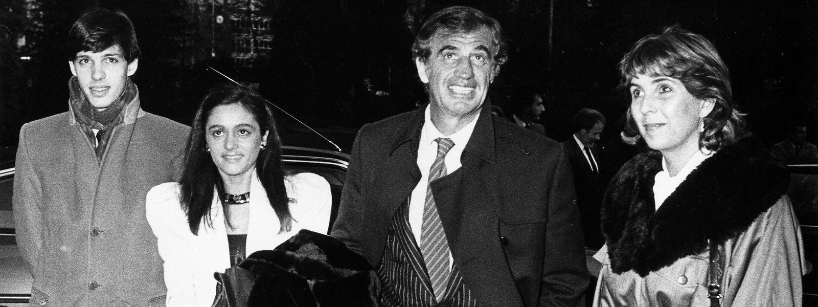 Accompagné de ses enfants (Paul et Florence) et de Lydie Polfer, l'acteur avait fait halte à la Villa Vauban.