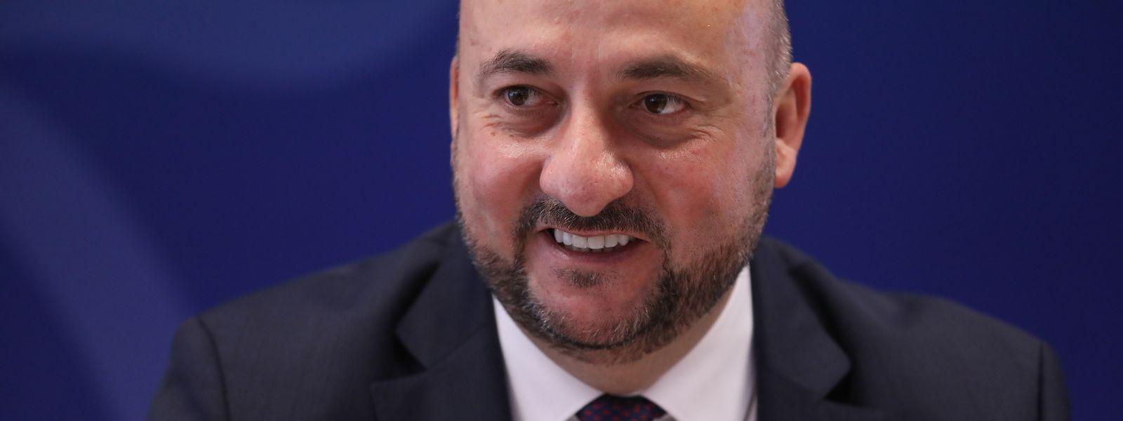 Wirtschaftsminister Etienne Schneider.