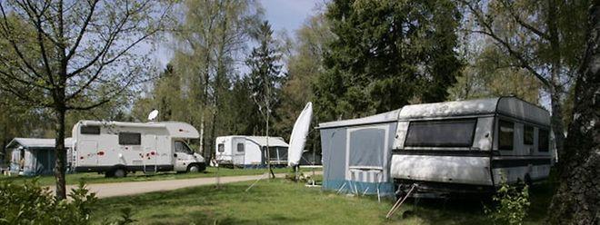 Die Ruhe auf dem Campingplatz trügt. Er ist längst zum Politikum geworden.