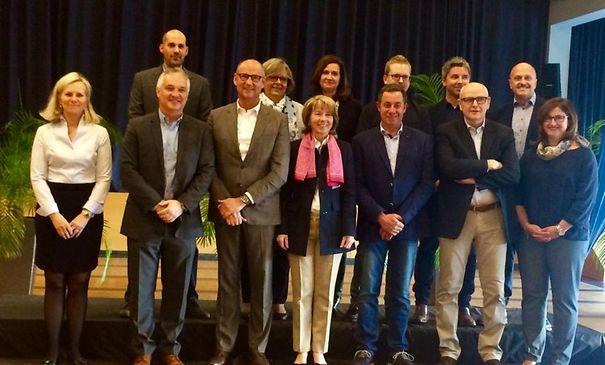 Kandidaten vun der DP STROOSSEN fir Gemengenwalen vum 8.Oktober.