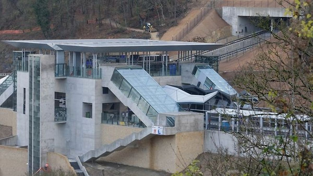 The new Pfaffenthal-Kirchberg station (Chris Karaba)