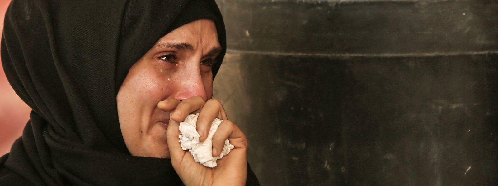 Mehr als 60 Menschen wurden bei den Auseinandersetzungen in Gaza getötet.