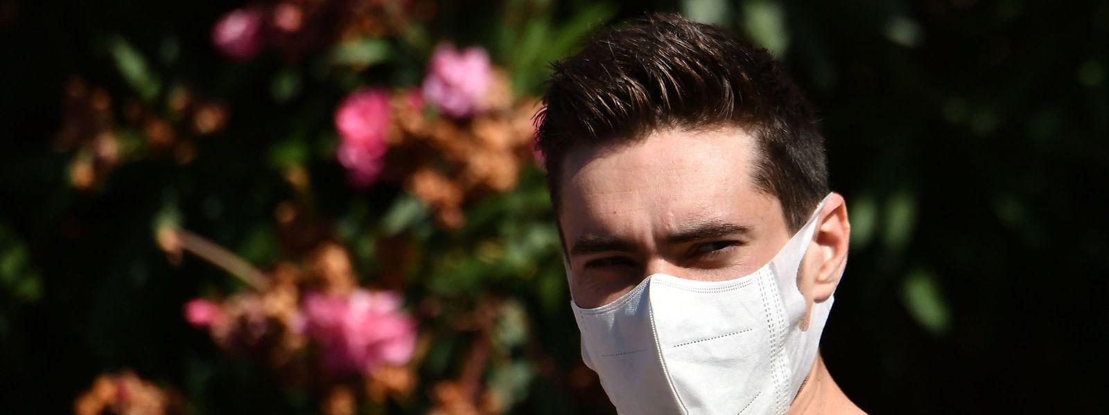 Tom Dumoulin hat beim Critérium du Dauphiné negative Erfahrungen mit maskenlosen Zuschauern gemacht.