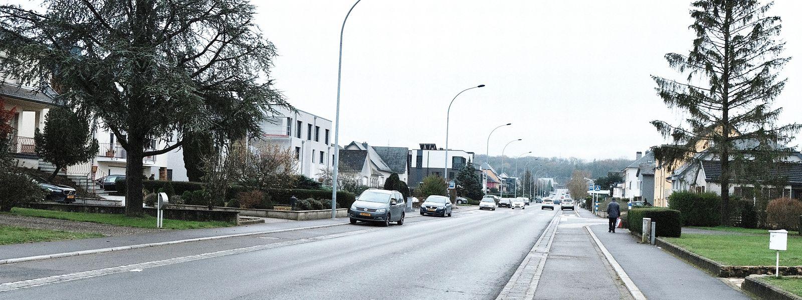 Die Neugestaltung des Boulevard J.F. Kennedy in Niederkerschen gehört zu den drei Großprojekten des Haushaltsentwurfs 2021.