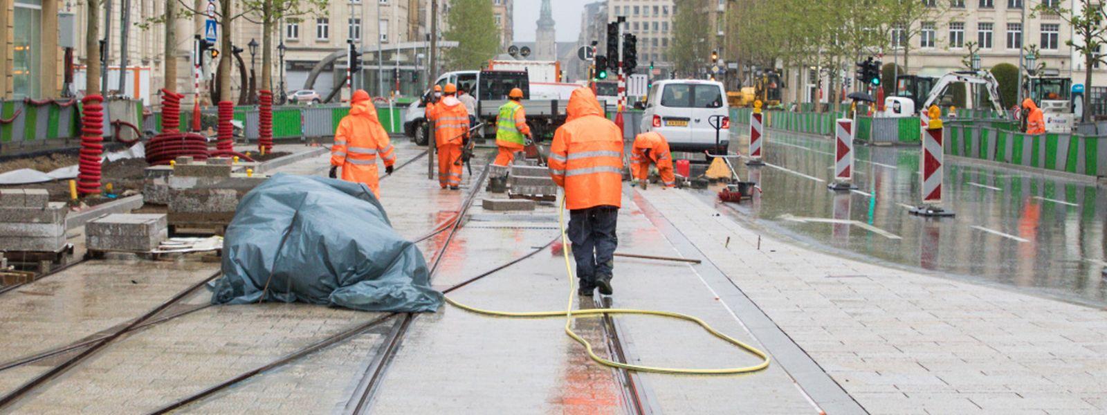 Le ministre de la Mobilité, François Bausch (Déi Gréng) a déjà fait savoir qu'il demanderait une suspension du congé collectif pour les entreprises engagées sur la nouvelle ligne tram.