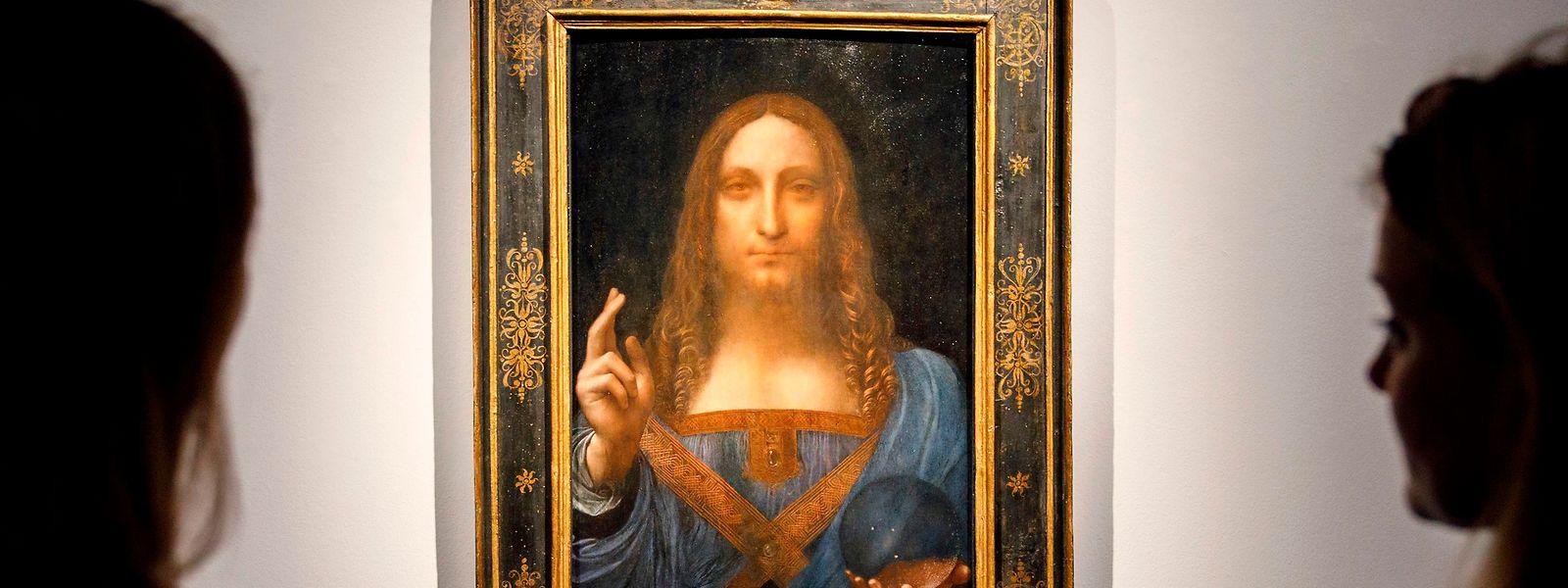 """383 Millionen Euro teuer: """"Salvator Mundi"""" von Da Vinci."""