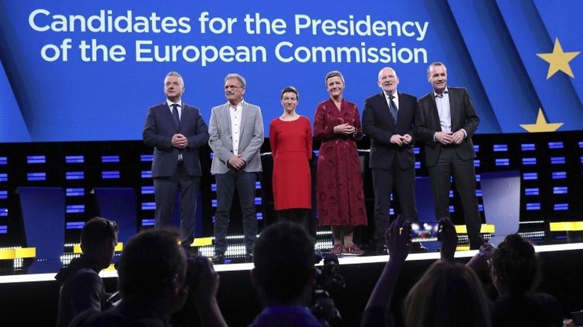 Lors du dernier débat entre chefs de file européens, seules deux femmes étaient présentes: l'Allemande Ska Keller et la Danoise Margrehe Vestager.