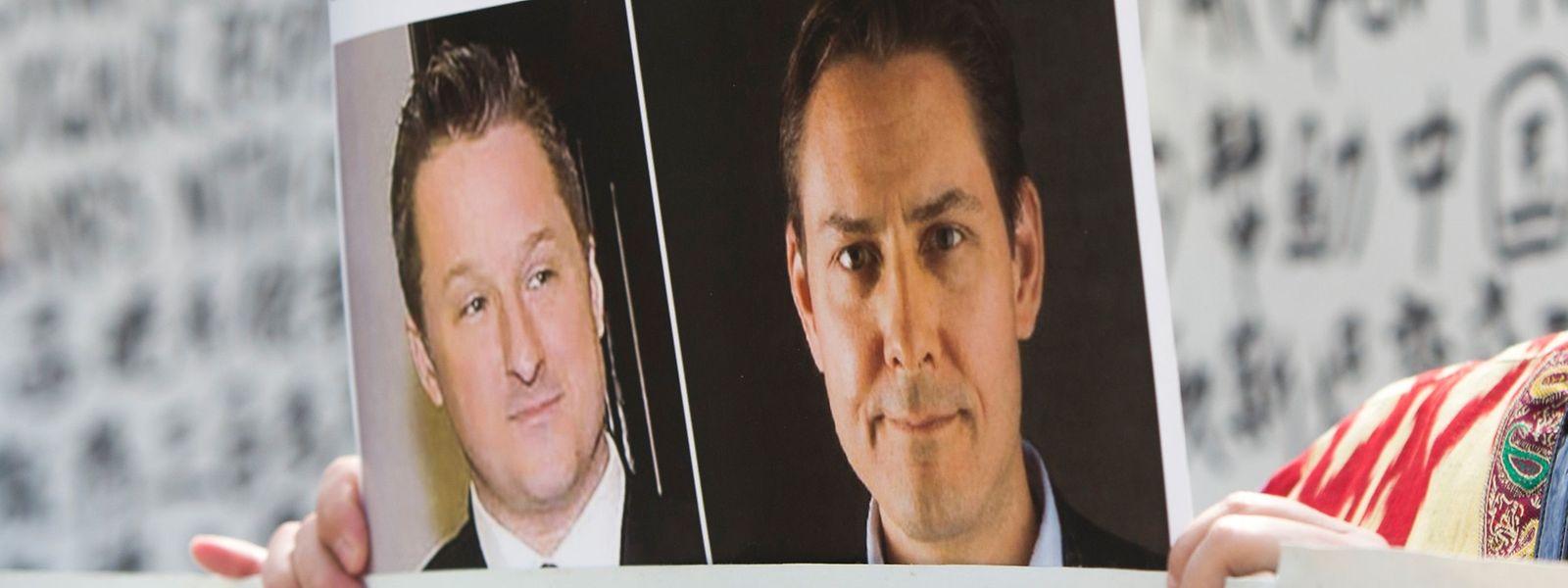 Der frühere kanadische Diplomat Michael Kovrig (l.) und sein Landsmann Michael Spavor, der ein Kulturzentrum für den Austausch mit Nordkorea geleitet hatte, wurden Ende 2018 in China festgenommen.