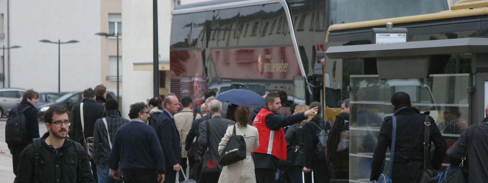Des bus de substitution circuleront à partir de 5h30 ce jeudi matin entre Thionville et Bettembourg.