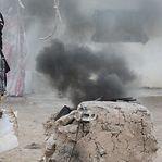 O Estado Islâmico resiste à ofensiva apoiada pelos EUA