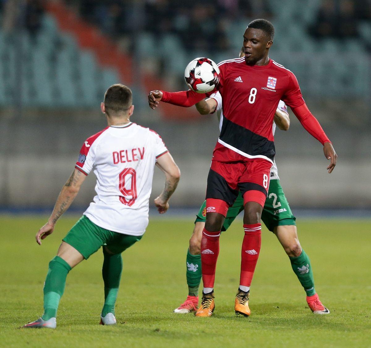 Naguère utilisé comme défenseur central, Christopher Martins officie désormais au milieu de terrain en sélection
