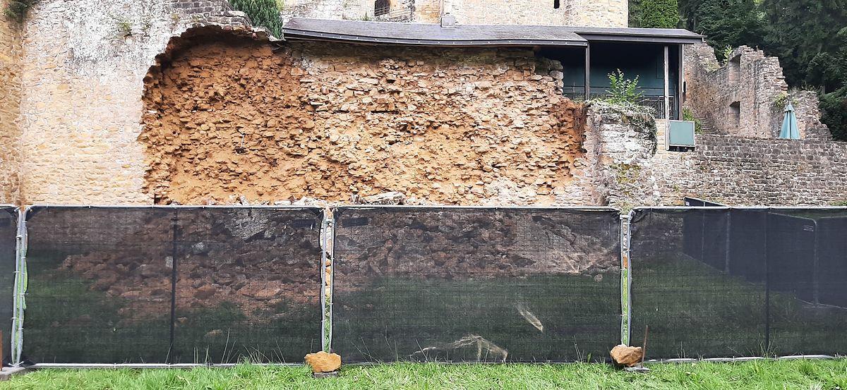 La partie endommagée pourrait faire l'objet d'un chantier de restauration avant la fin de l'année.