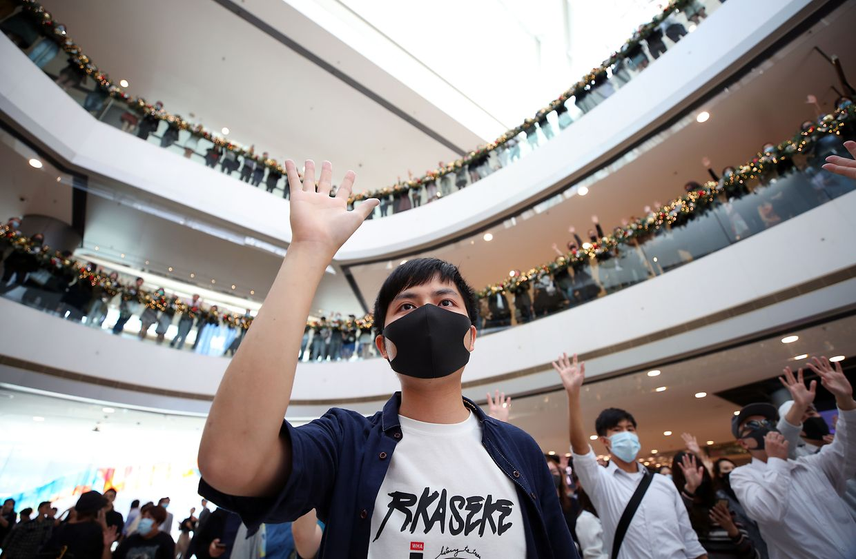 Wahlen inmitten der Proteste in Hong Kong