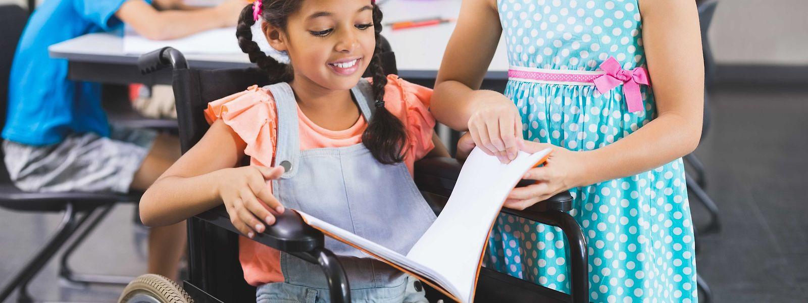 Inklusion in der Schule kann nur in Zusammenarbeit gelingen, so Info-Handicap.