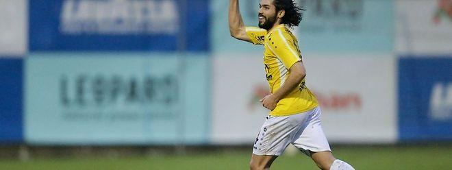 Joël Pedro abriu o marcador na vitória do F91 Dudelange frente ao Racing, por 4-0.