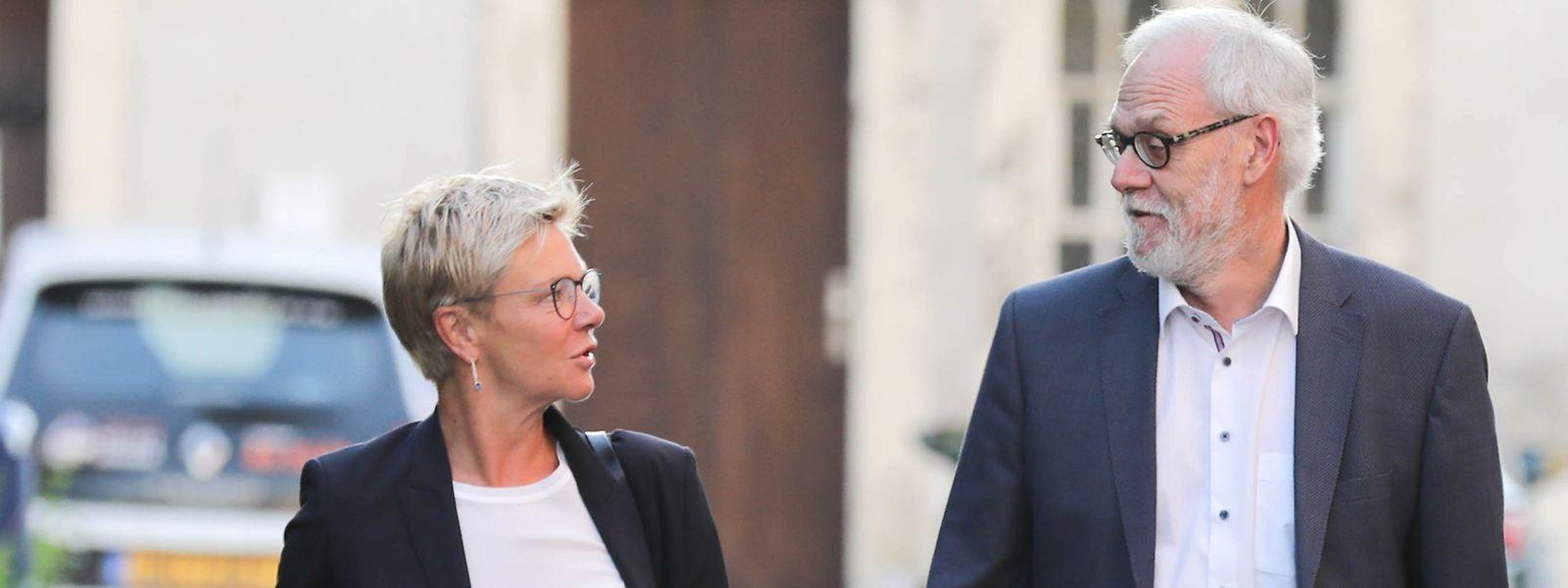 Martine Hansen, cheffe de fraction CSV, voit partir à regret un «député d'expérience».