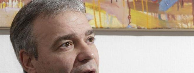 "Innenminister Dan Kersch (LSAP): ""Menschenfeinde sind nicht meine Freunde""."