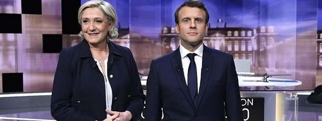 Jornalistas Franceses Do Luxemburgo Aliviados Com Vitoria De Emmanuel Macron C Audio