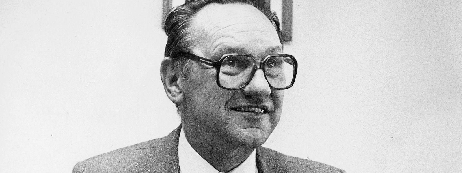 Der CSV-Politiker verstarb am Sonntag im Alter von 89 Jahren.