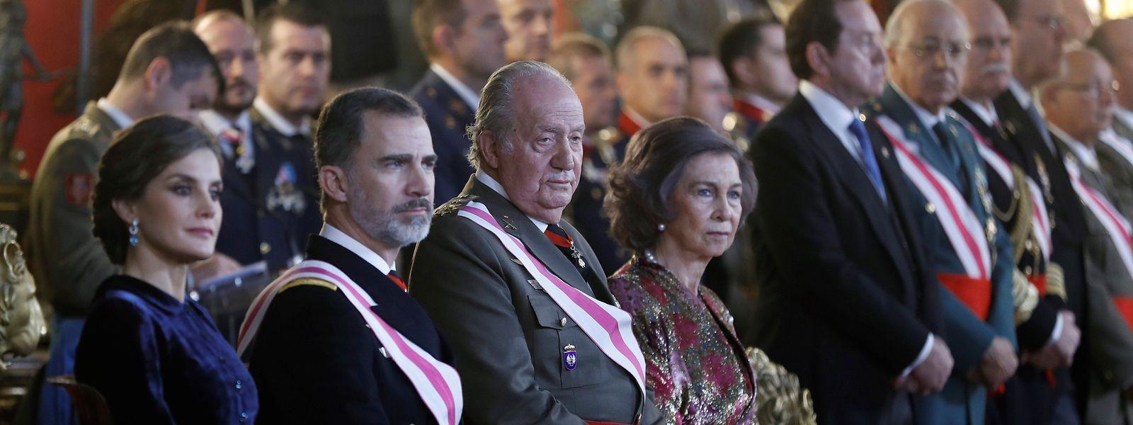 Letizia, Felipe, Juan Carlos et Sofia, la monarchie espagnole vit des moments difficiles.