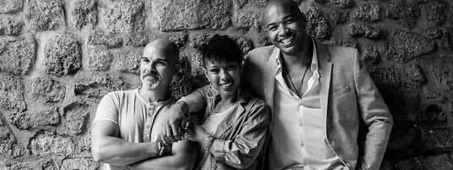 Da esquerda para a direita: Bebé Serra, Cassandra Lobo e Joaquim Rodrigues