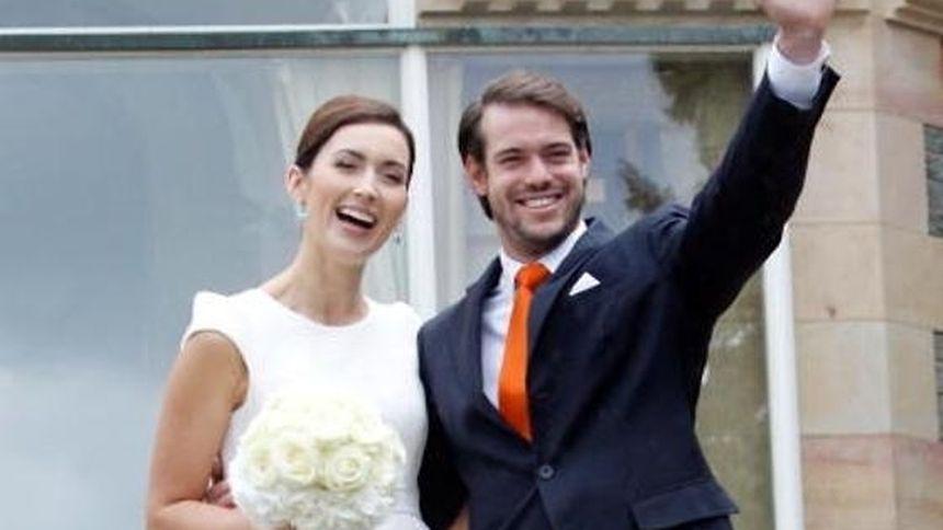 Os dois jovens casaram pelo civil na terça-feira e unem-se pelos sagrados laços do matrimónio neste sábado