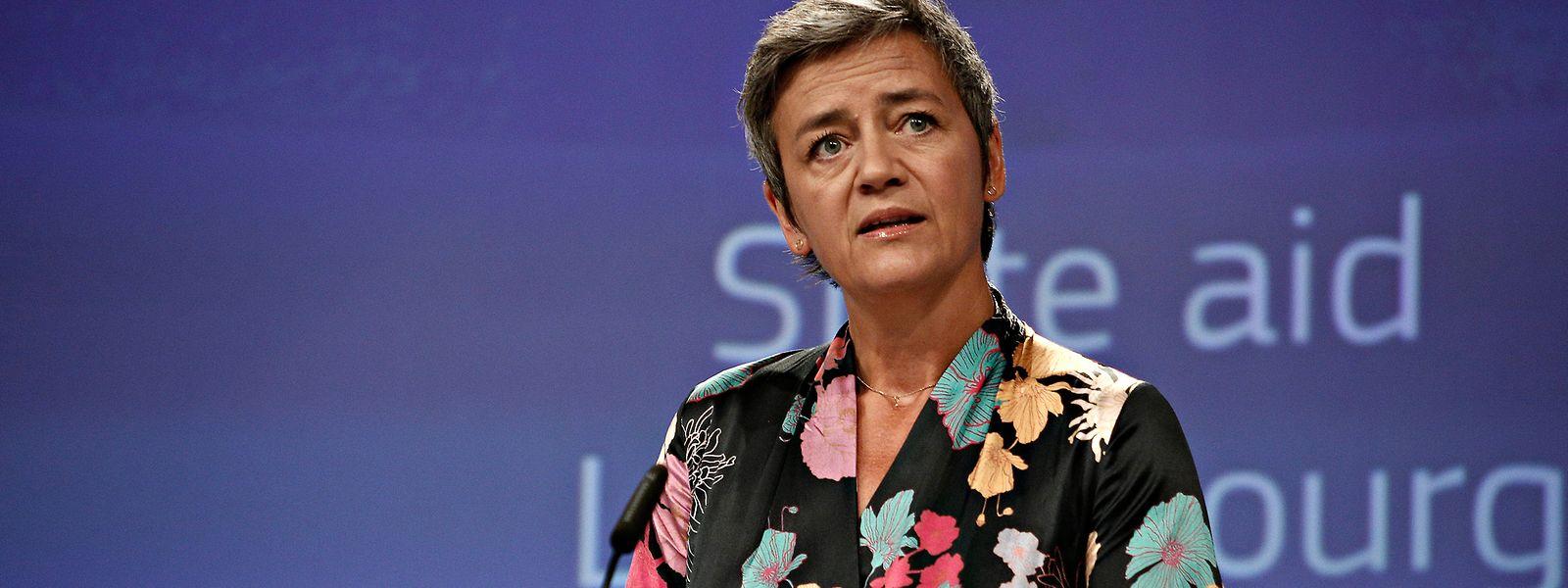 """""""Vestager wäre eine starke Präsidentin der Europäischen Kommission"""", so Bettel."""