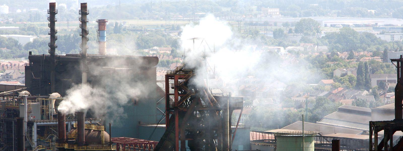 Fábrica da ArcelorMittal no sul do país.
