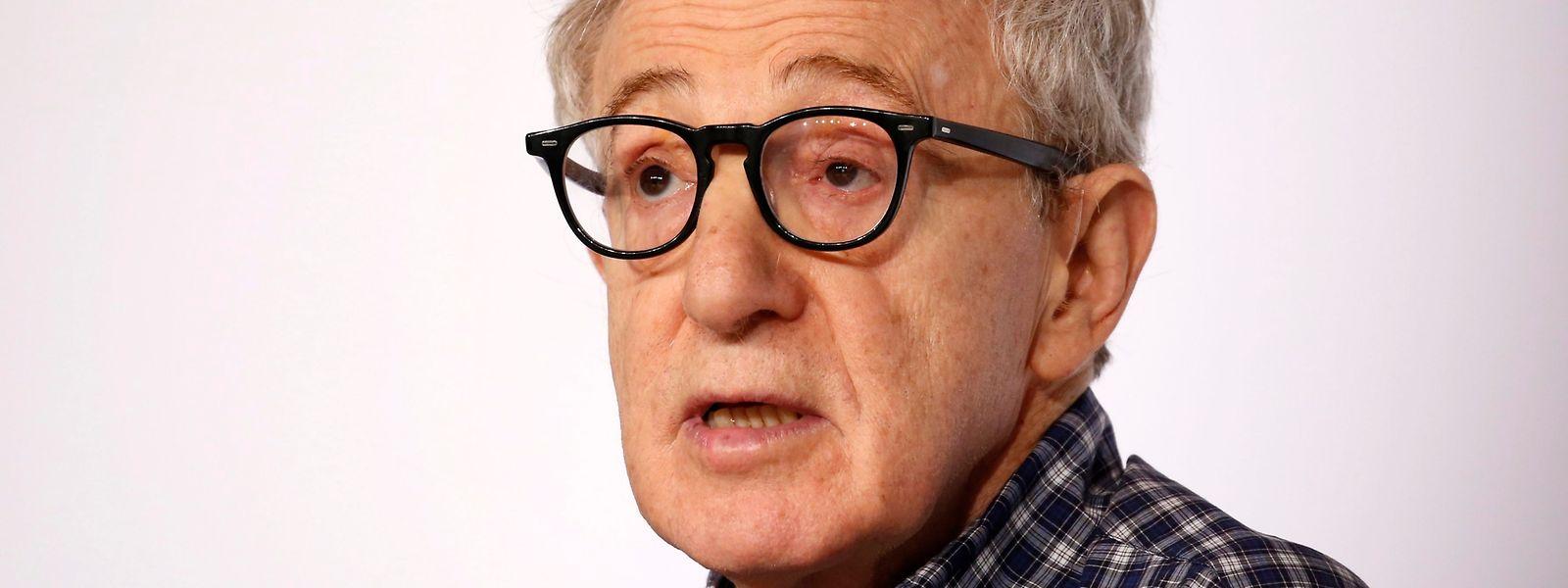 Der US-Regisseur und Schauspieler Woody Allen
