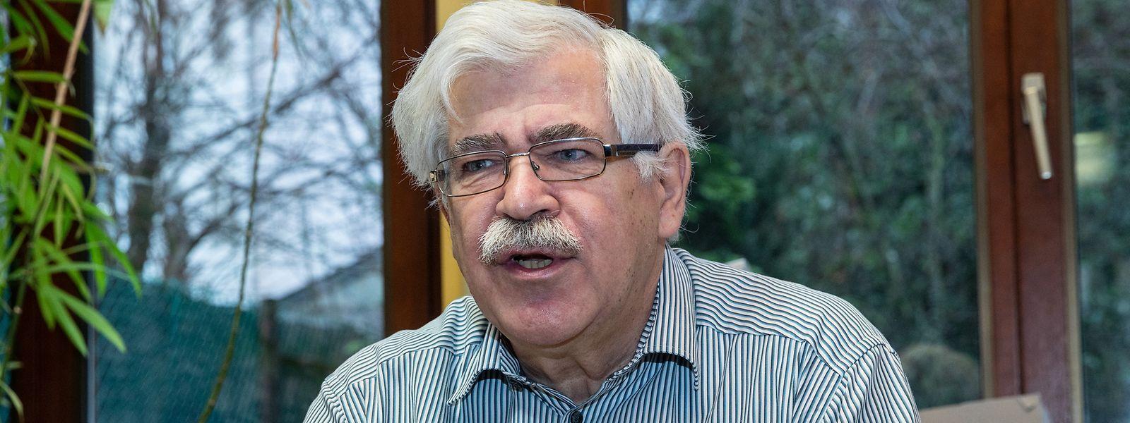 KPL-Präsident Ali Ruckert plädiert für eine Reduzierung der Militärausgaben. Das Geld solle lieber in Bildung und soziale Verbesserungen investiert werden.