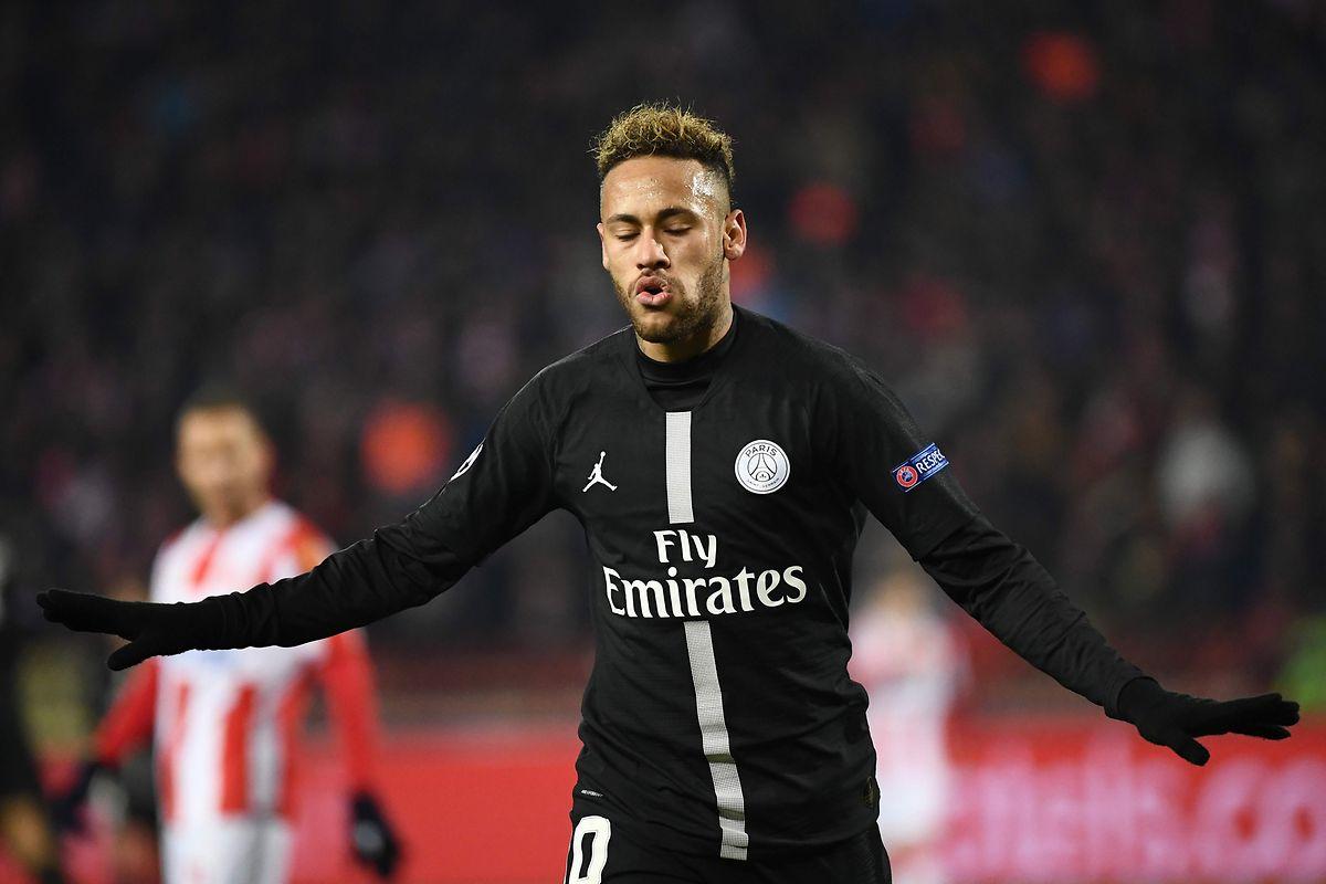 Neymar et le Paris SG n'ont pas tremblé dans le climat torride du Marakana de Belgrade