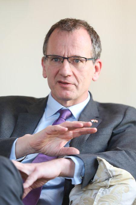 Pour John Marshall, les services financiers devront faire partie des négociations sur les futures relations commerciales
