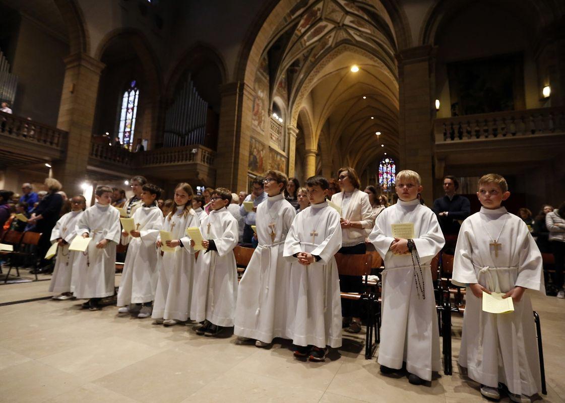 Messe für die neue Pfarrei Belair-Merl-Cessingen.