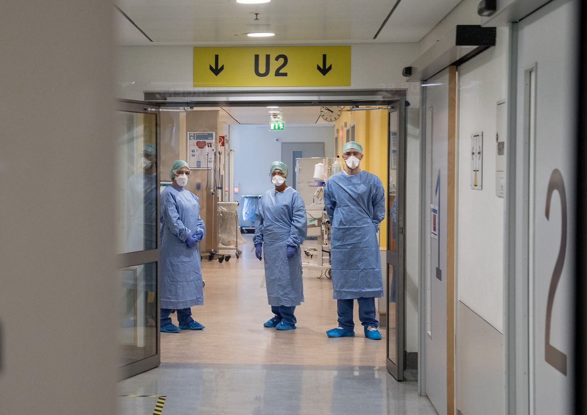 Le personnel hospitalier a été soumis à rude épreuve au cours de ces derniers mois