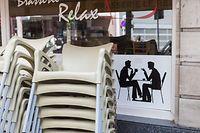 Wirtschaft, Restaurants, Cafés: wie ist die Lage? Klage, warum sie erst am 1. Juni öffnen dürfen, Brasserie Relay, foto: Lex Kleren/Luxemburger Wort