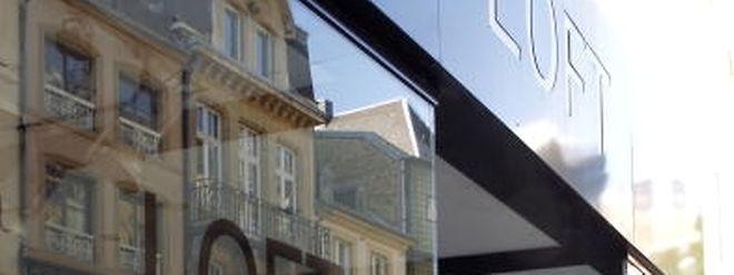 Em 2013, muitas lojas do centro da capital do Luxemburgo foram obrigadas a fechar portas. A Loft foi uma delas.