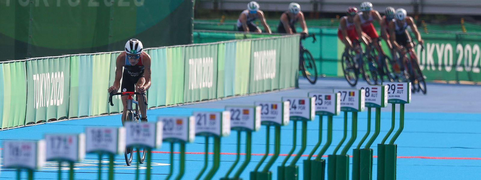 Stefan Zachäus führt das Rennen an.