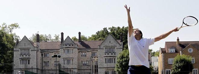 Gilles Muller de retour sur le gazon. Pour chasser de sa mémoire sa dernière prestation à Wimbledon.