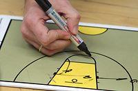 12 Basketball Damen Basket Esch gegen Musel Pikes 21.03.2010 Schmuckbild
